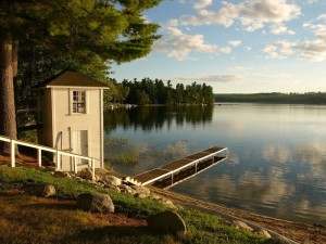 Western Maine lakefront property