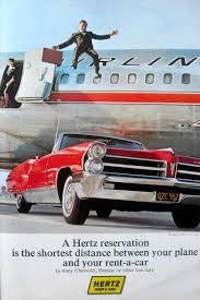 Hertz 'old school' content marketing