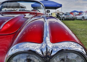Carlisle PA Corvette Car show