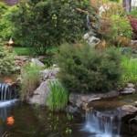 Asheville North Carolina White Gate Inn gardens