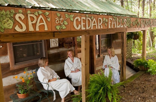 Hocking Hills of Ohio spa