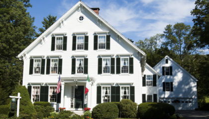 Superlative Camden Maine Bed and Breakfast Inn for Sale