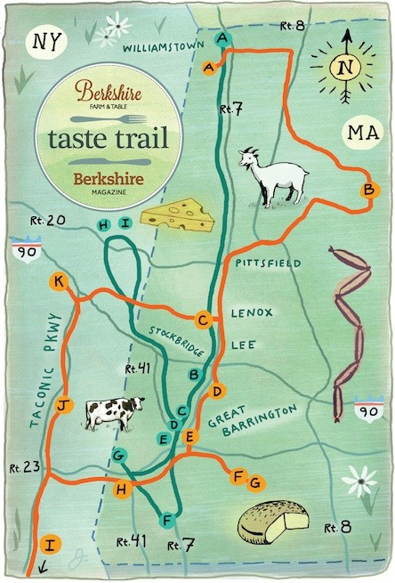 Berskhires of massachusetts Farm & Table Taste Trail