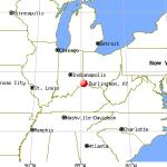 Burlington KY map