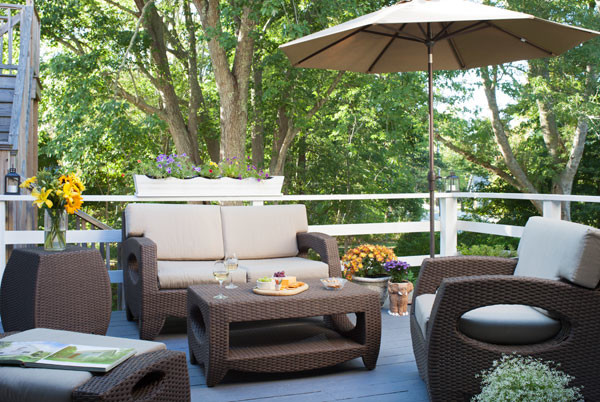 Outdoor Living-Old Manse Inn, Cape Cod