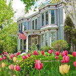 picturesque Bed & Breakfast Inns with springtime flowers