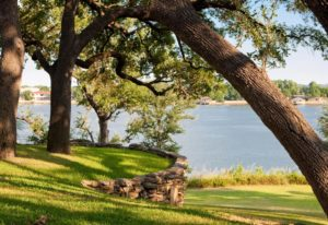 Lake Granbury, the setting for the B&B Team seminar on how to start a bed and breakfast in Texas