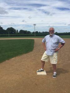 Rick Wolf at the Field of Dreams Movie Site