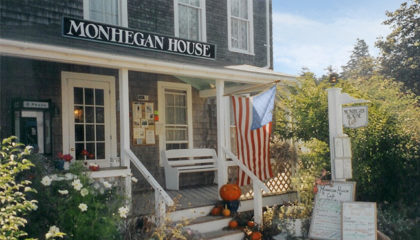 Monhegan House- A Maine Island inn for Sale