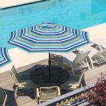 pool deck Header
