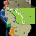 Galena IL map