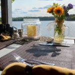 Wolf cove inn dining on boat house