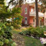 Brickhouse garden path