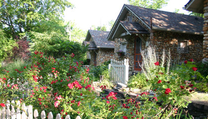 Eureka Springs stone cottages for sale