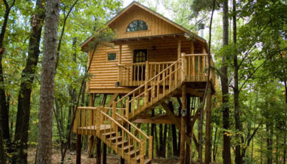 Eureka Springs Treehouses for sale