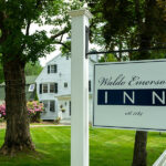 Waldo Emerson Inn front with sign