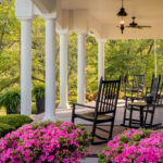 Tiffany Hill front Porch