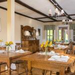 Breakfast-room-at-Stowe-VT-Inn-for-sale