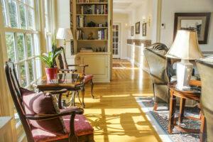 Interior photo of the Foxfield Inn in Virginia