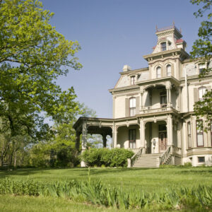 Photo of the Garth Woodside Mansion in Hannibal, MO