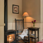 Gas-fireplace-at-Stowe-VT-Inn-for-sale